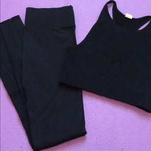 Fabletics seamless set